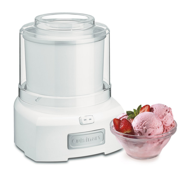 Ice Cream Maker - This fully automatic Ice Cream Maker lets you turn ingredients into a delicious and healthy frozen treat with no fuss and no mess.