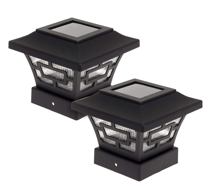 Solar Lights - Enjoy all night lighting in your yard with the Hilltop Extra Bright Solar Fence Post Cap Light from Westinghouse.