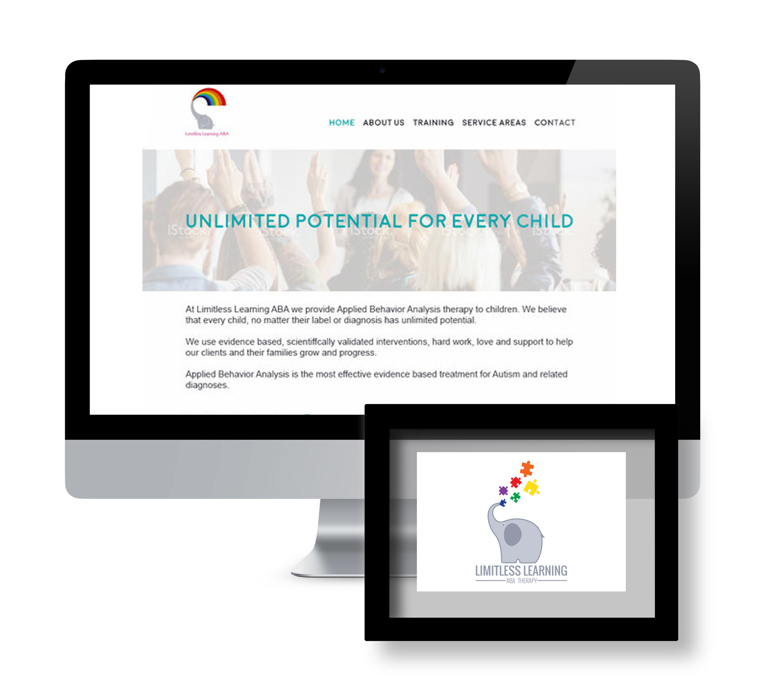 Limitless Learning ABA  |  Branding and Website Redesign