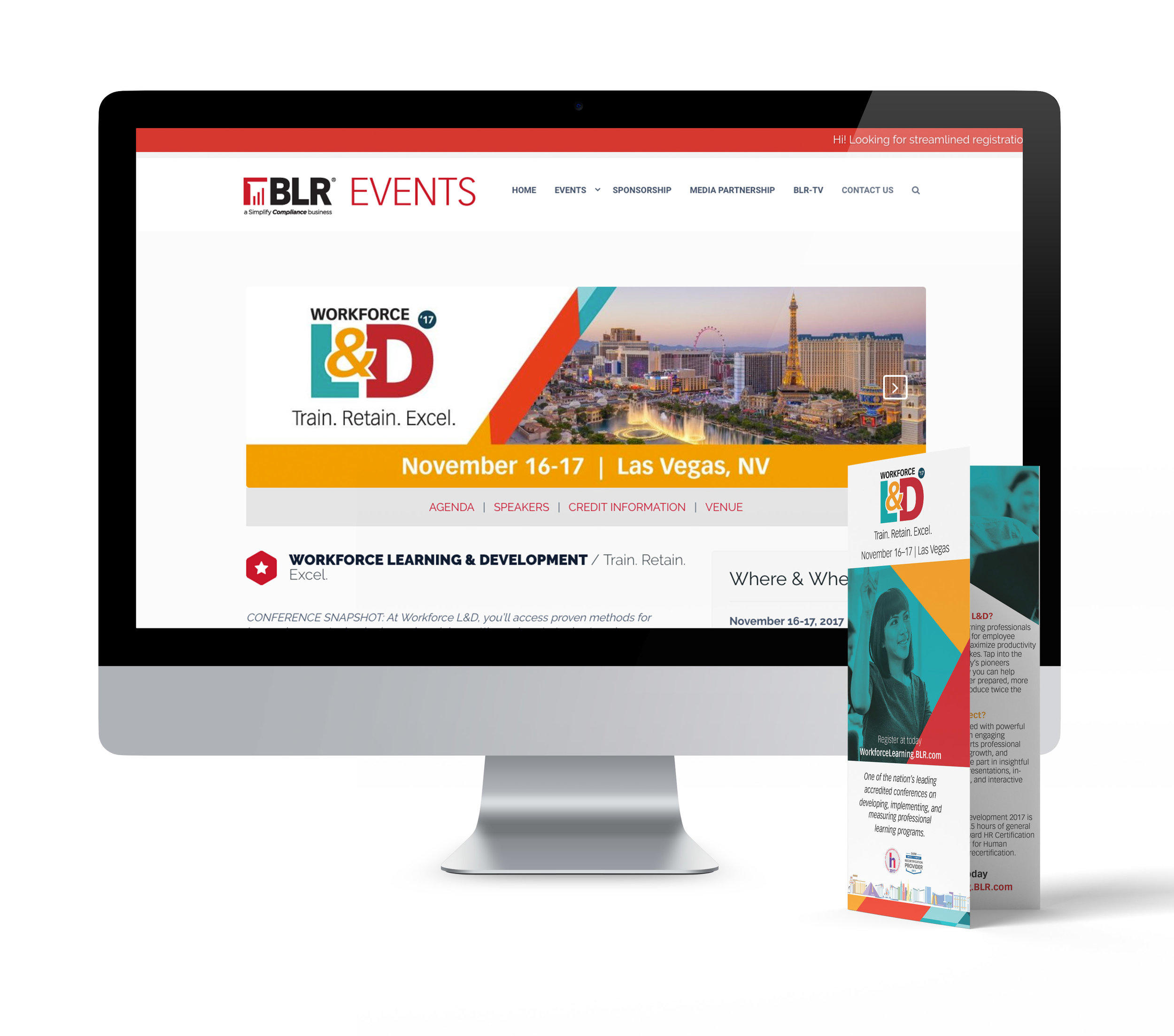 Workforce L&D  |  Print & Web Collateral