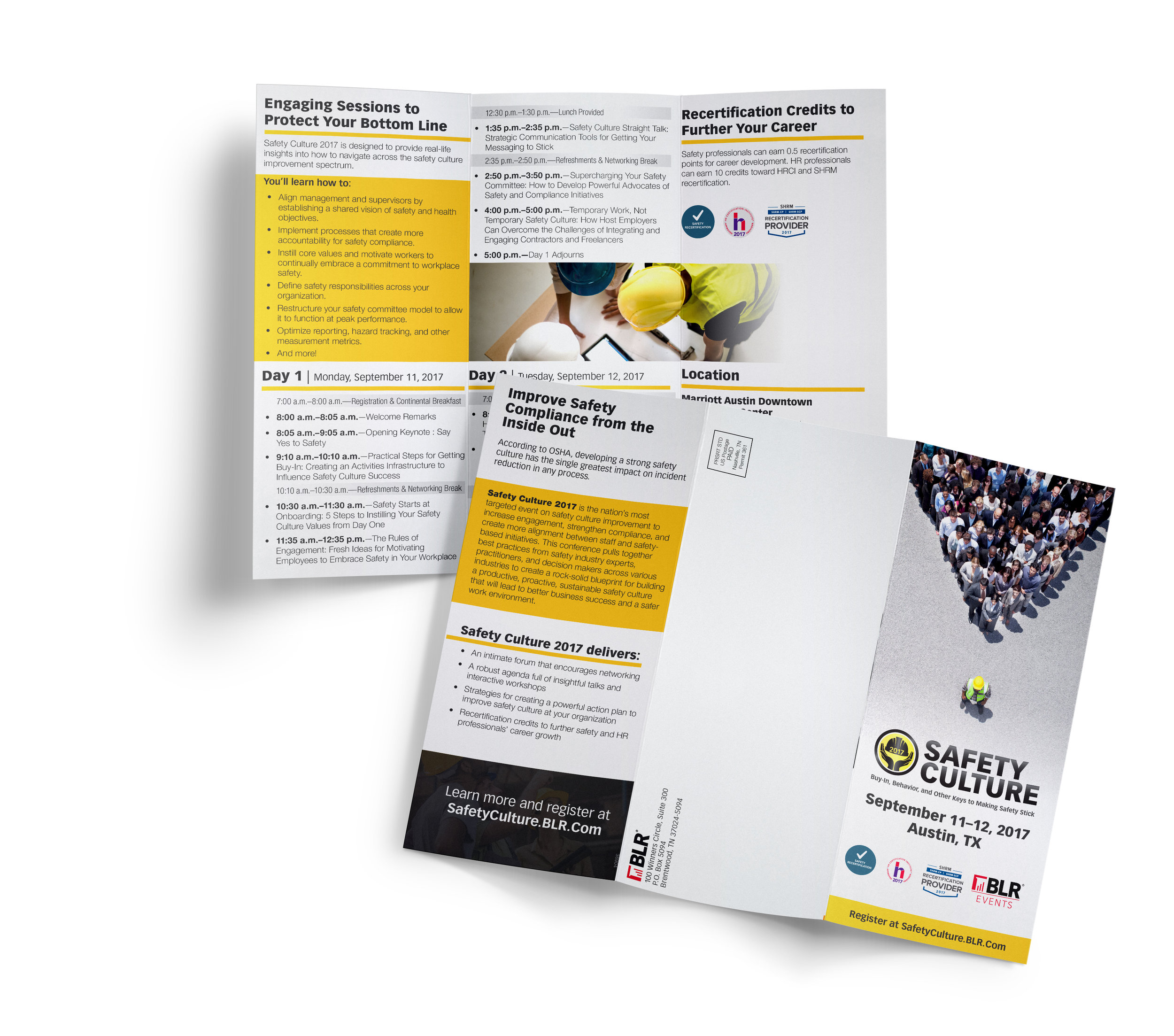 Safety Culture  |  Trifold Design