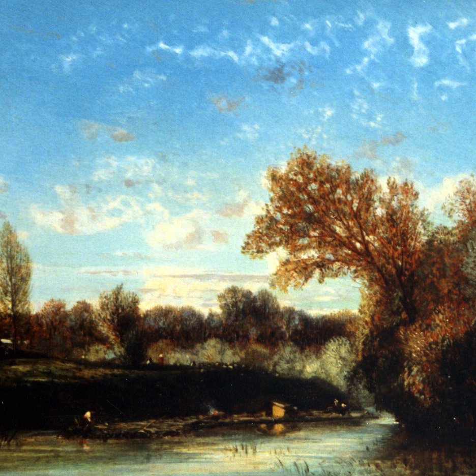 """Flers - """"Pastoral with Horses"""""""