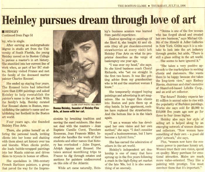 Heinley Globe Article 2