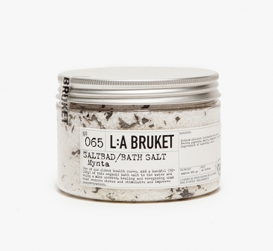 Hailing from Varberg, Sweden, La Bruket is a line of handmade, organic soaps and spa products. La Bruket ensures all of its ingredients and raw materials are ecologically certified to create a natural blend of herbs, vegetable, and essential oils offering energizing, moisturizing, softening, and healing qualities.