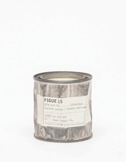 From Le Labo, a hand poured small batch candle made from soy vegetable wax in a reusable distressed can (for when you are looking for something a little less precious). Figue 15 is a figue and black current blend good enough to eat.