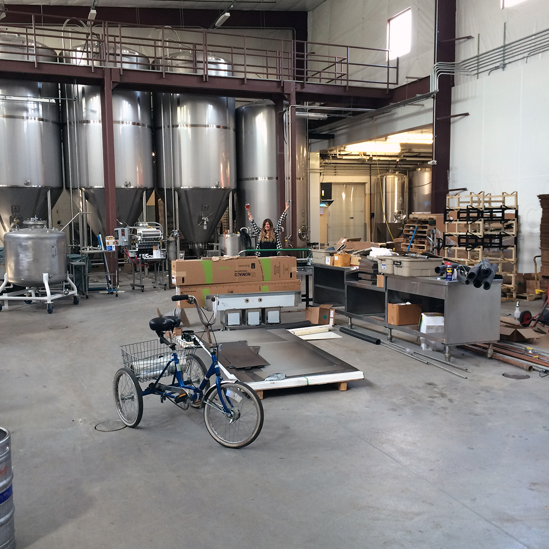 Jackie O's new production brewing space