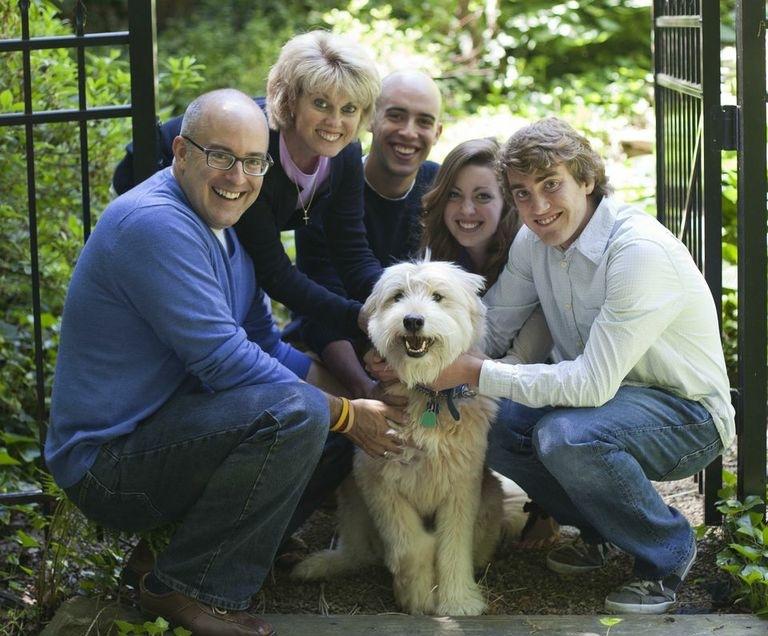 Joe, Maria, Joey, Sarah, Joshua and of course Tanner!