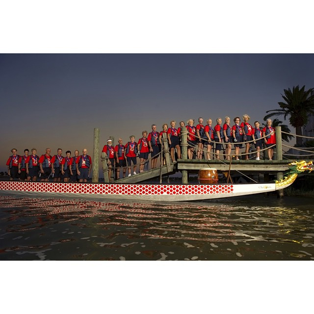 #ICauseBeautiful #Florida #stereotypes #retirement #seniorstereotype #TheVillages #Portrait #Photography #selfrealization #happiness #boating #rowrowrowyourboat #dragonboat #foreveryoung #silverdragons  These are The Villages Silver Dragons, a competitive dragon boat crew that row on Lake Sumter juxtaposed with their dragon boat. They travel the State of Florida competing against other teams. @wanderluster800