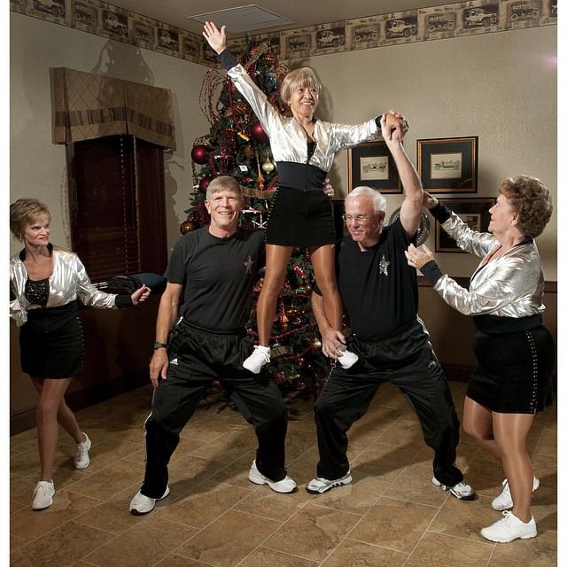 #ICauseBeautiful #Florida #stereotypes #retirement #seniorstereotype #TheVillages #Portrait #Photography #selfrealization #happiness #danceteam #silverstars #AARP #orlandomagic #energy #timeoftheirlife  The Orlando Magic Silver Stars dance group rehearses a routine at a neighborhood recreation center. The Silver Stars perform during time outs at Orlando Magic basketball games.