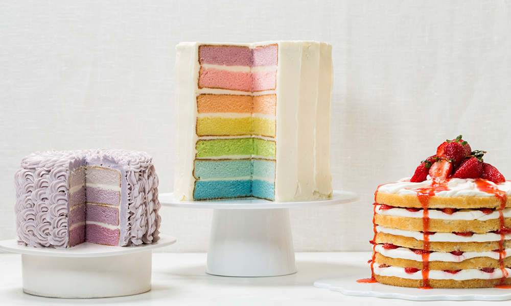 Assorted Summer Cakes