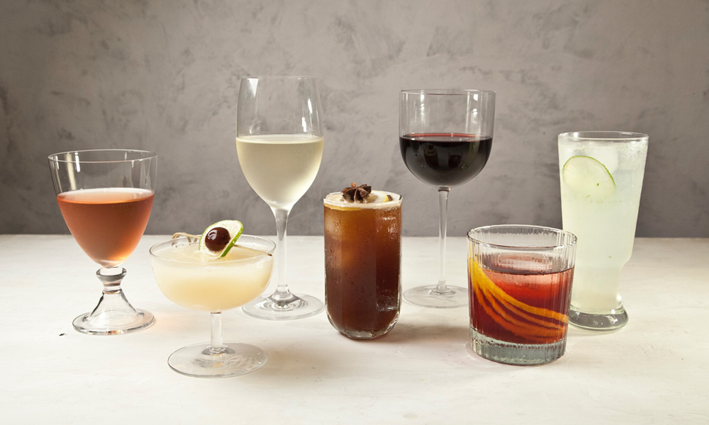 Assorted Winter Cocktails