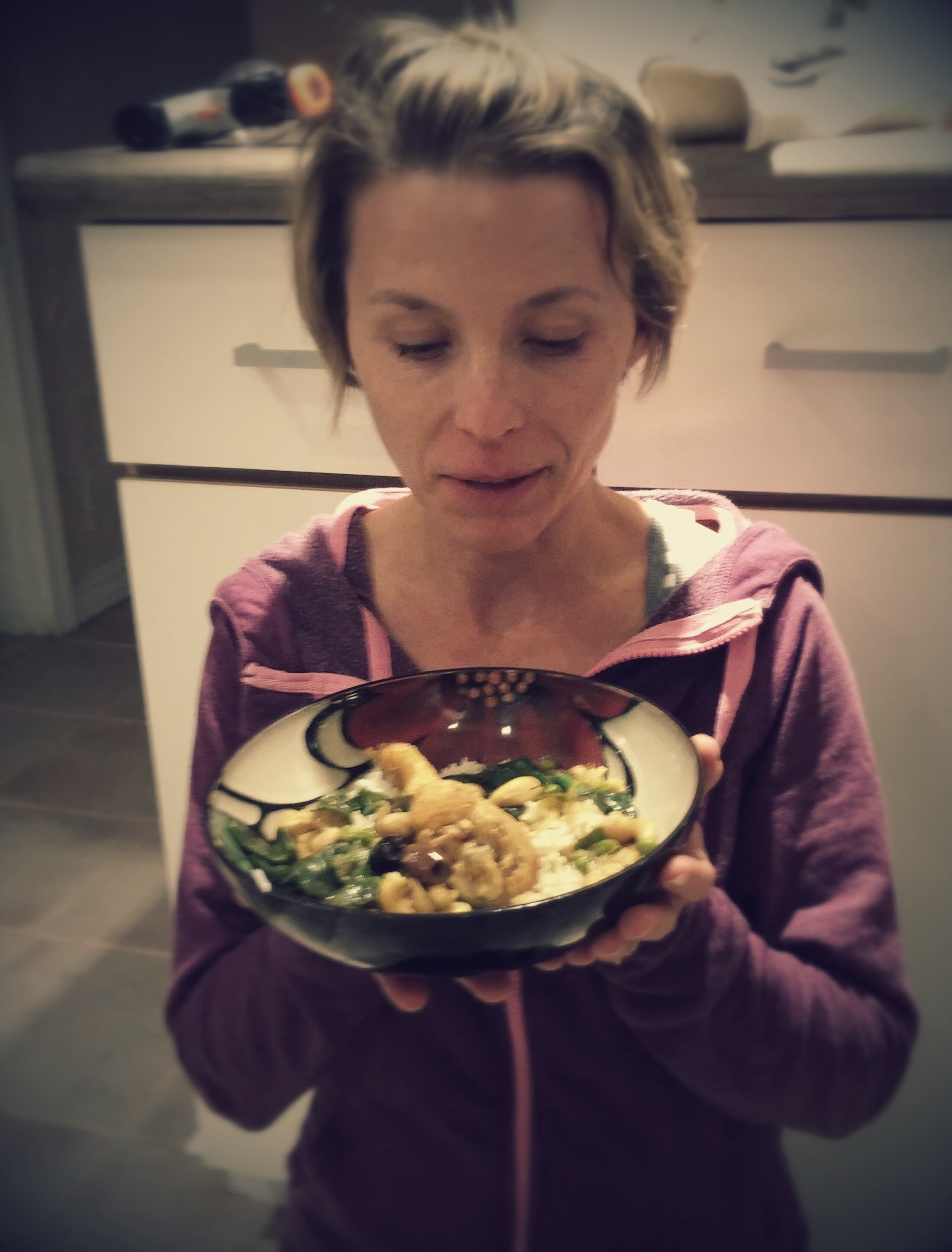 This was a recipe for Chicken Tajine from Mediterranean Paleo that turned out so delicious.