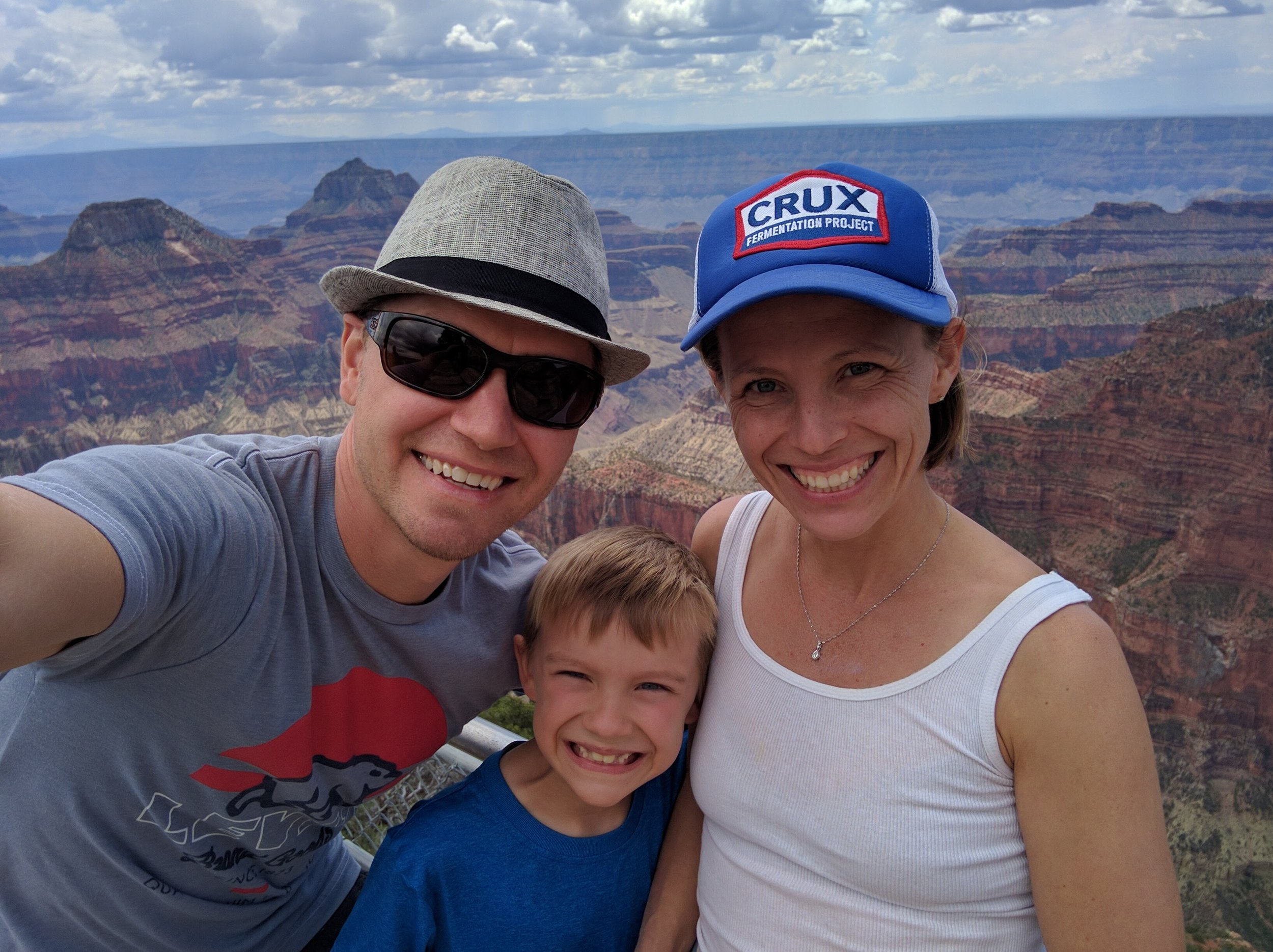 Our first visit to the Grand Canyon!