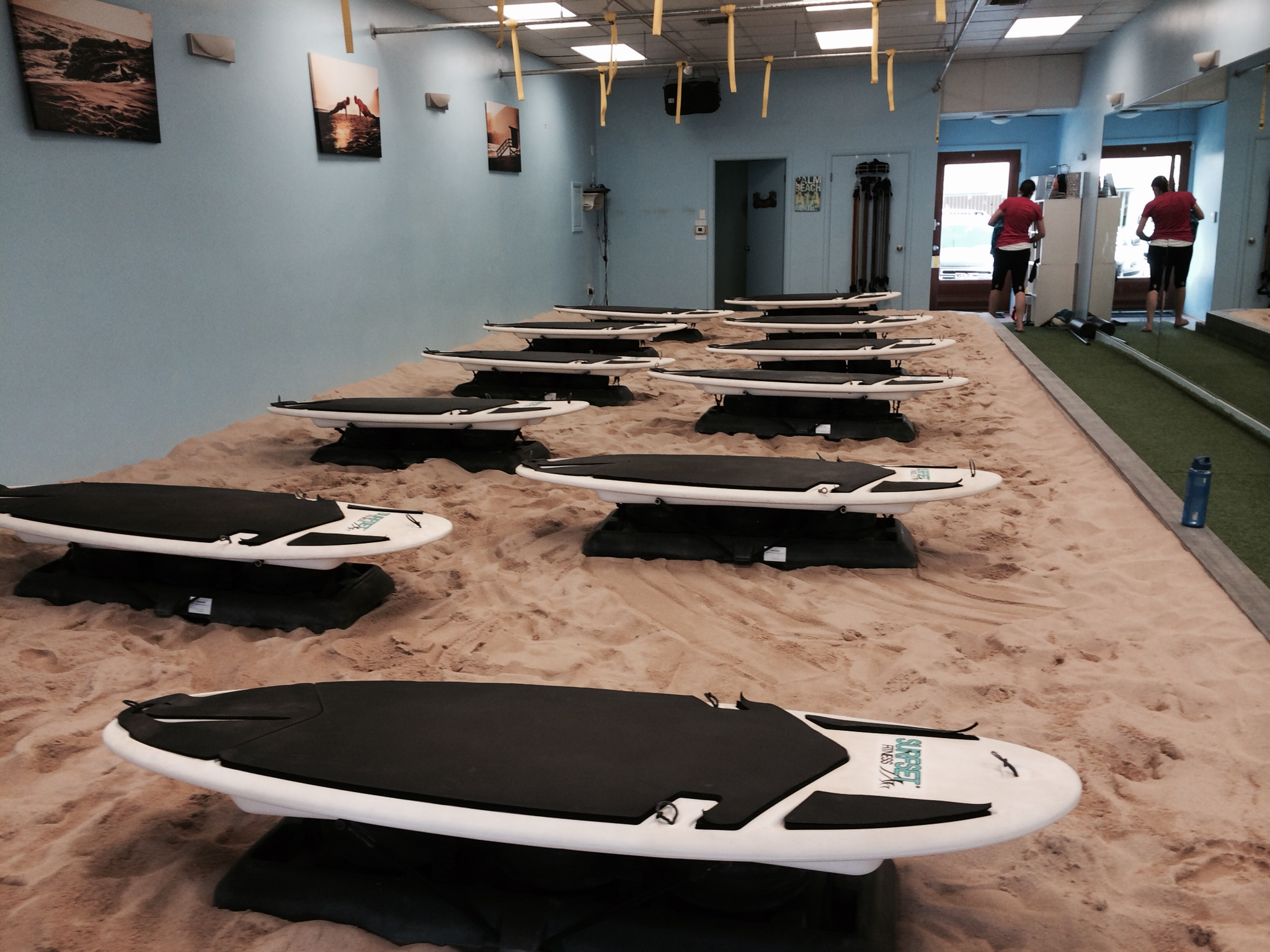 "The ""beach"" torture chamber"