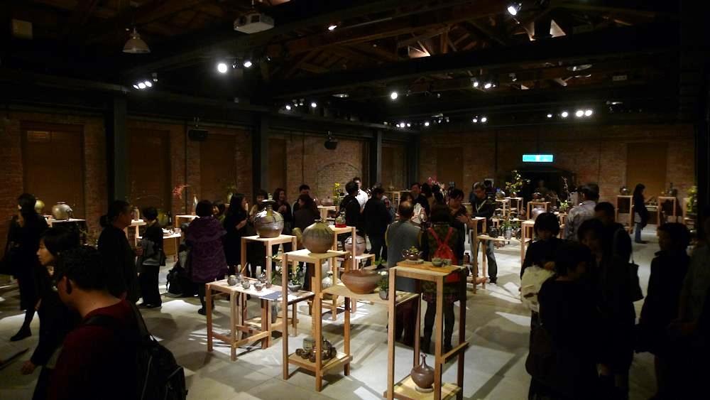 2012年, 柴燒七人聯展, 台北市華山藝文中心