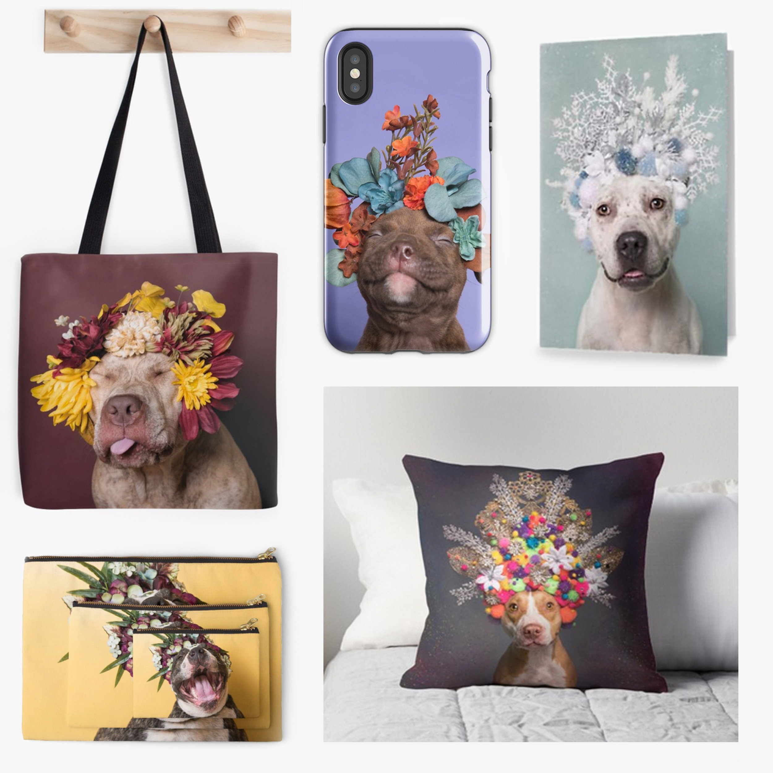 Greeting cards, Tote bags, Phone cases, Clothing and more - I offer a wide range of ethically sourced, durable, high quality products via my partner RedBubble. This is where you can get tote bags, zipped pouches, phone cases, pillows, clothing… (shipped worldwide). Here is a guided tour of the collection, and click on the button below to access the RedBubble shop directly.