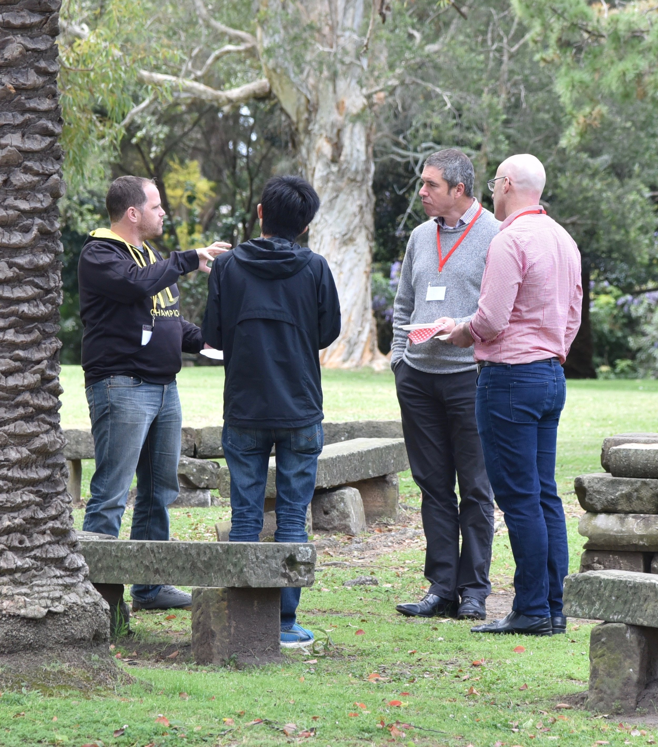 Held in the leafy grounds of our Inner West offices, there was plenty of time to reflect and debrief during the breaks.