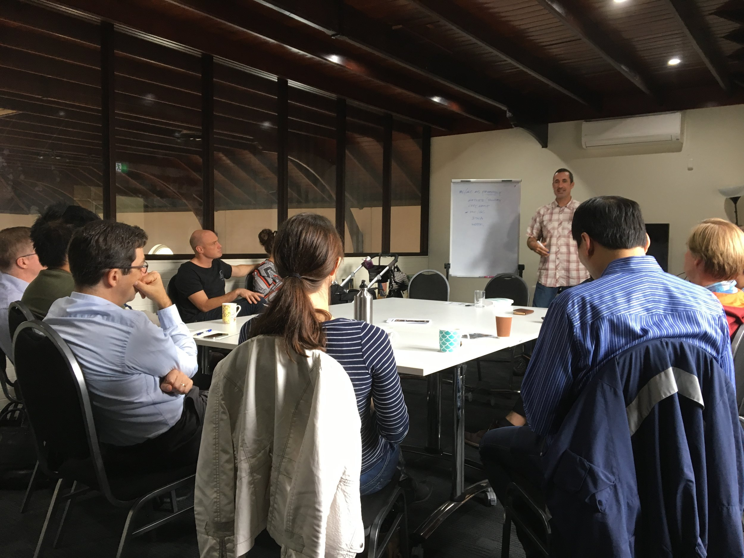 Todd Morr shares his thoughts on missional communities with members of City to City Australia's network of churches.
