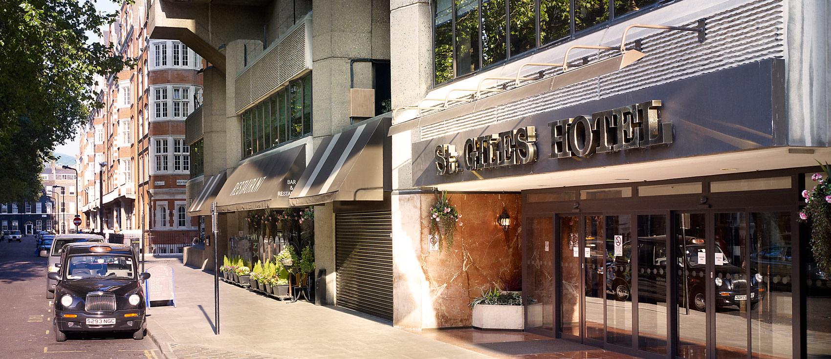 St. Giles Hotel, Tottenham Court Rd