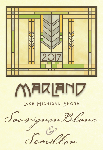 MARLAND SAUVIGNON BLANC/SEMILLON - A classic blend reminiscent of the Bordeaux region of France, this wine is made from our own estate grown fruit. Fermented in stainless steel tanks over the winter months, then filtered and bottled in February while still cold to capture the freshest aromas and flavors; grapefruit, lemongrass, lime, white peach, and green fig are carried on a silky medium body crescendoing to a lasting finish.