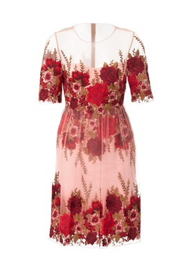 Marchesa Notte dress from Rent the Runway