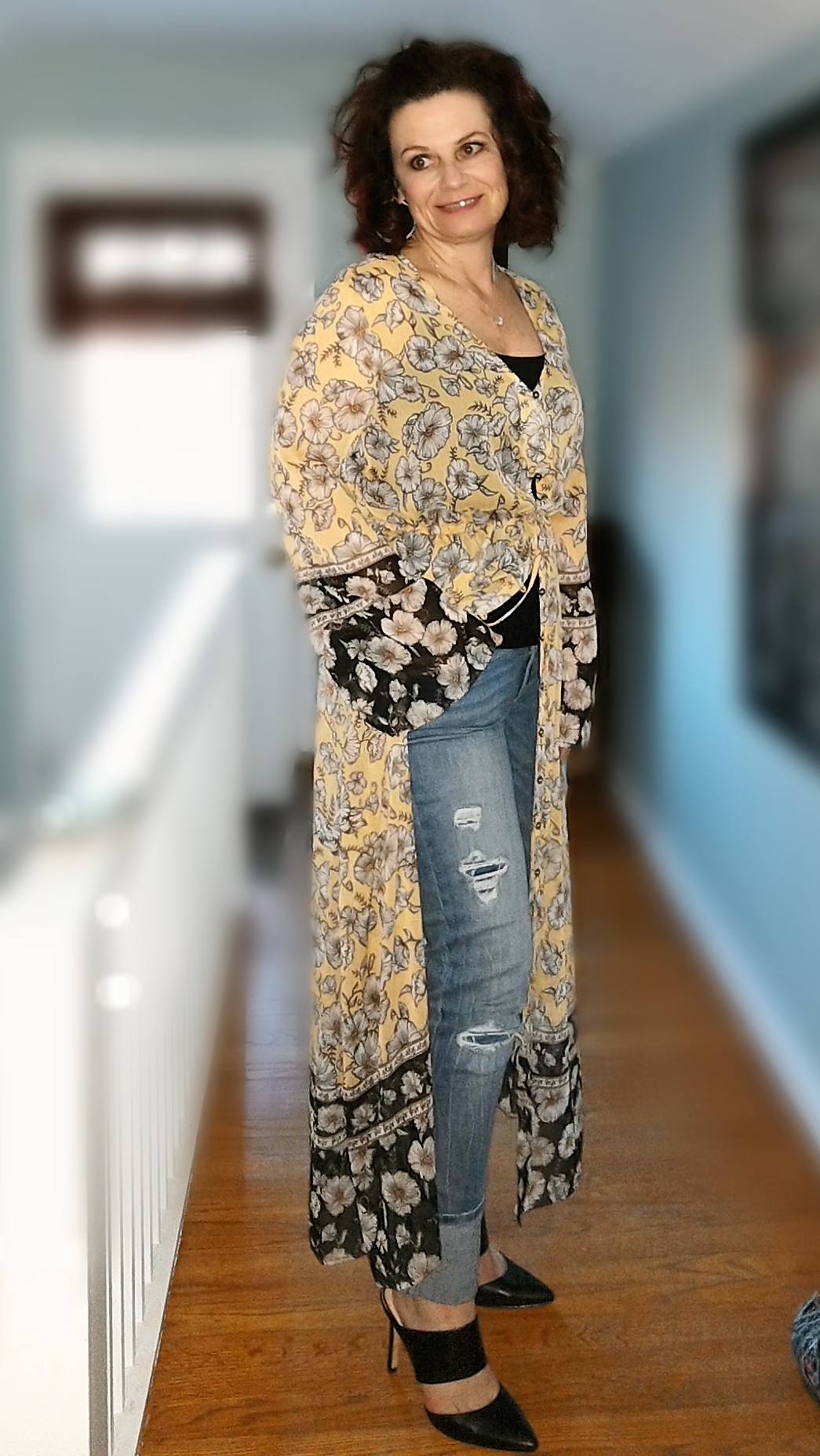 Dress with Jeans - Just another view.