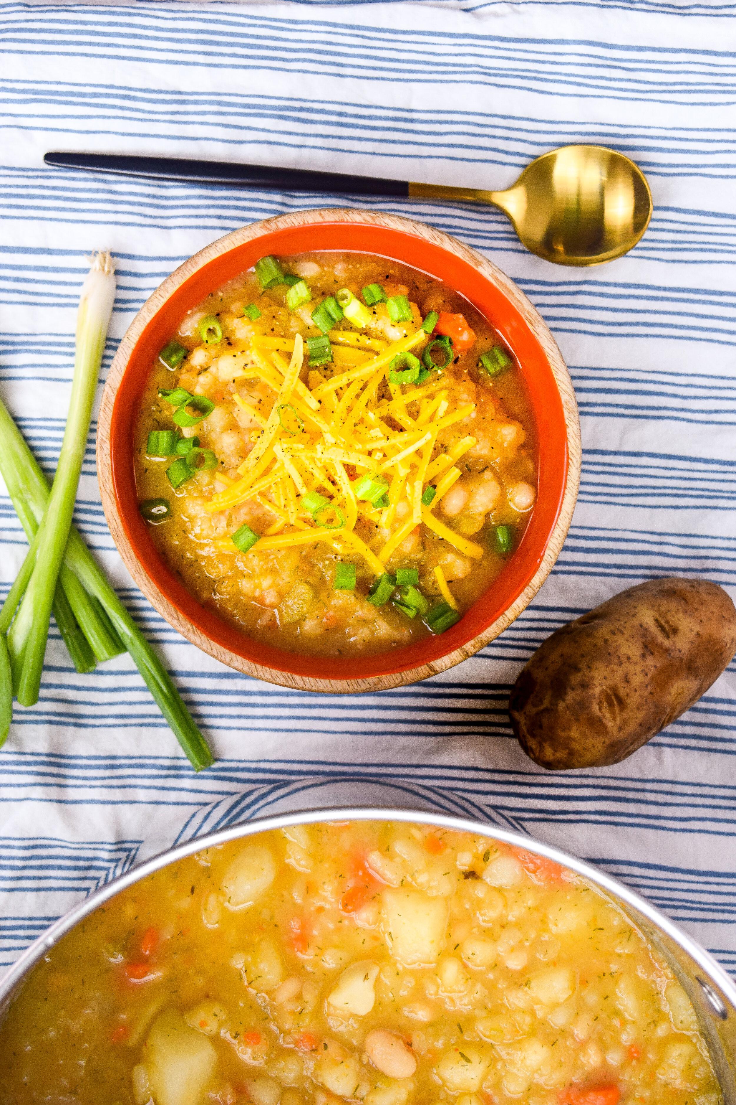 Baked Potato Soup F&B