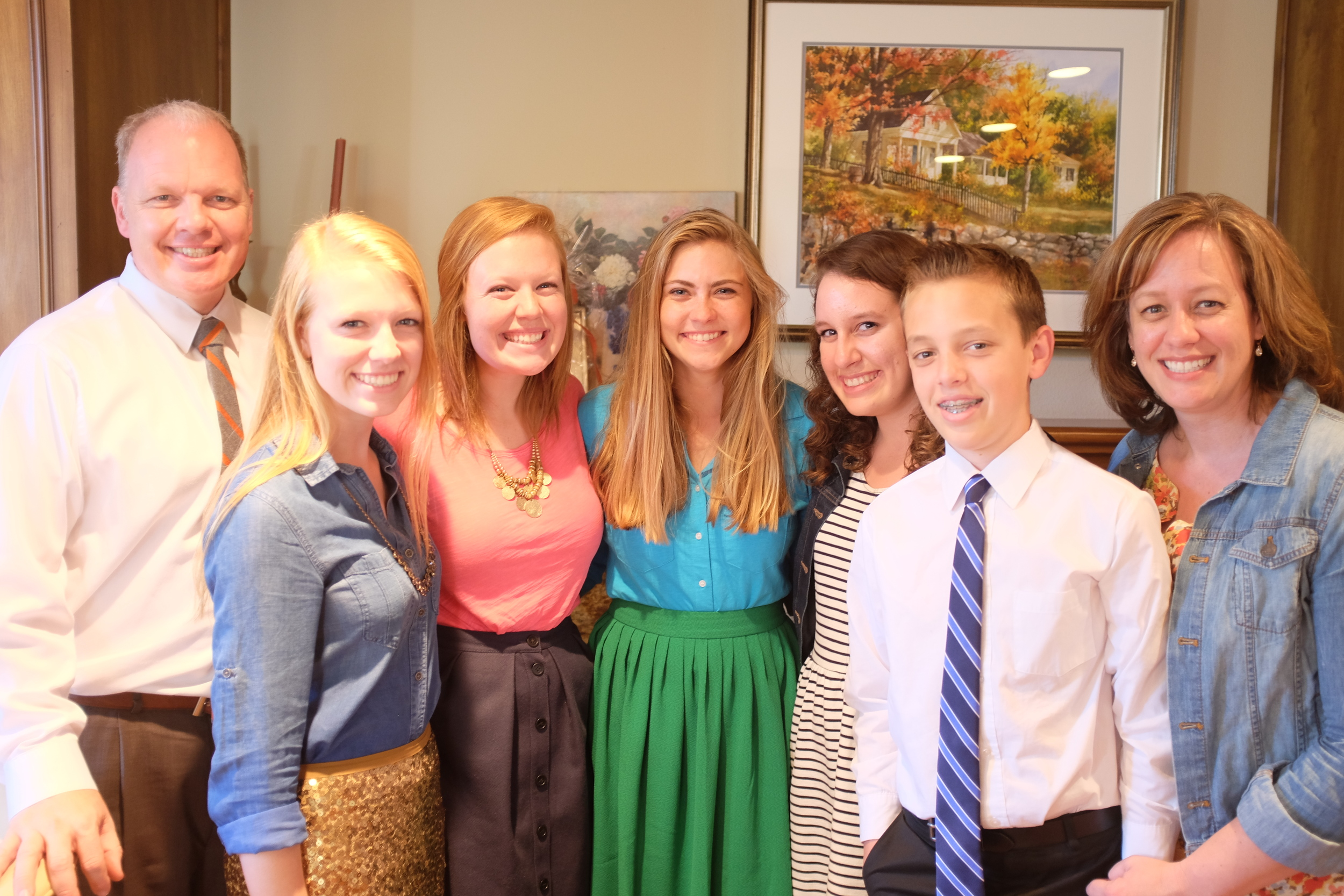 Camille will miss the Huisken Family!