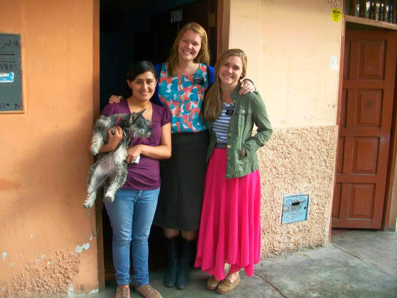 hermana gisella-- best ward missionary EVER!