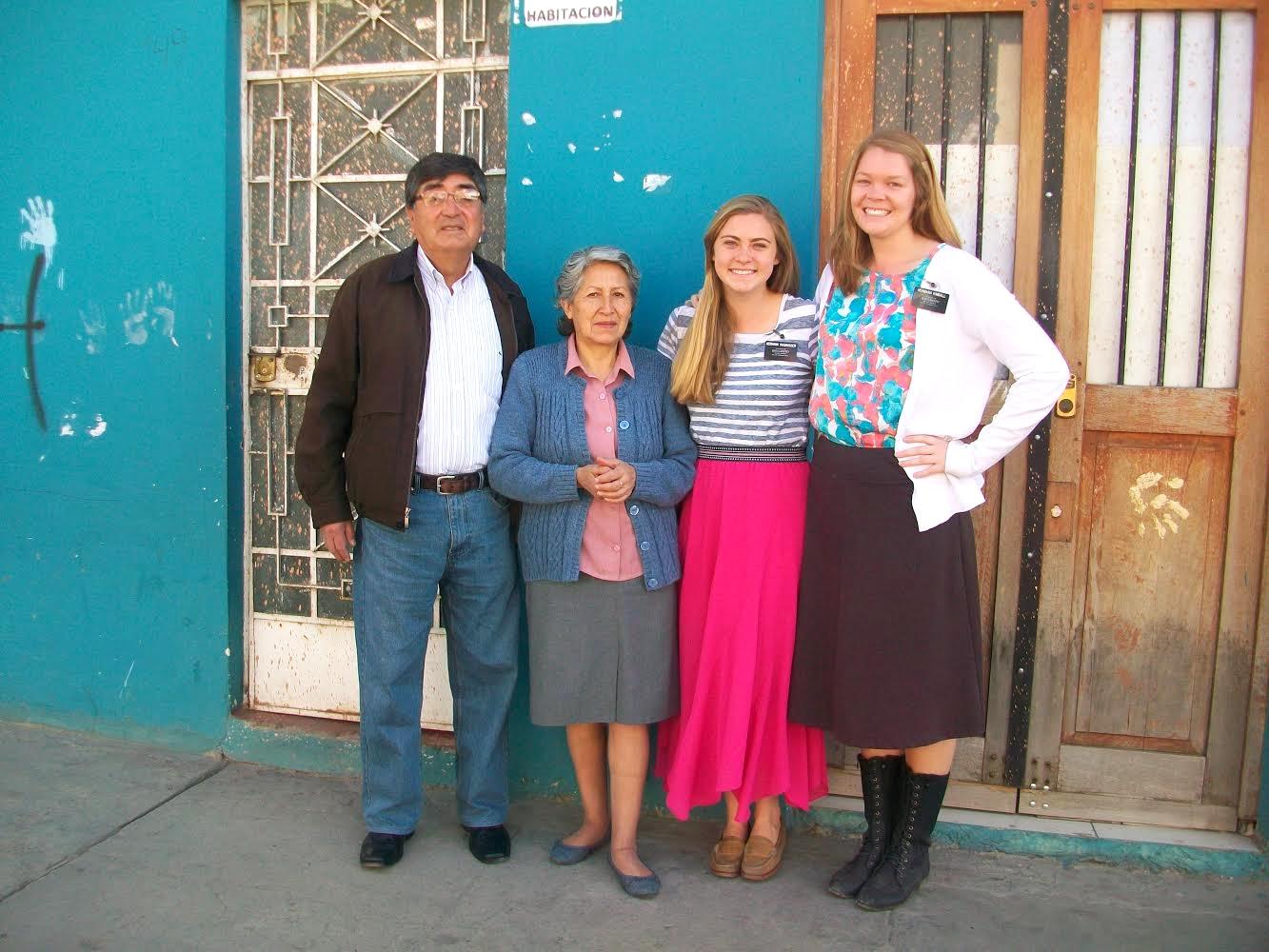 abel romo y hermana sara (with whom hermana ras & hermana kimball lived)