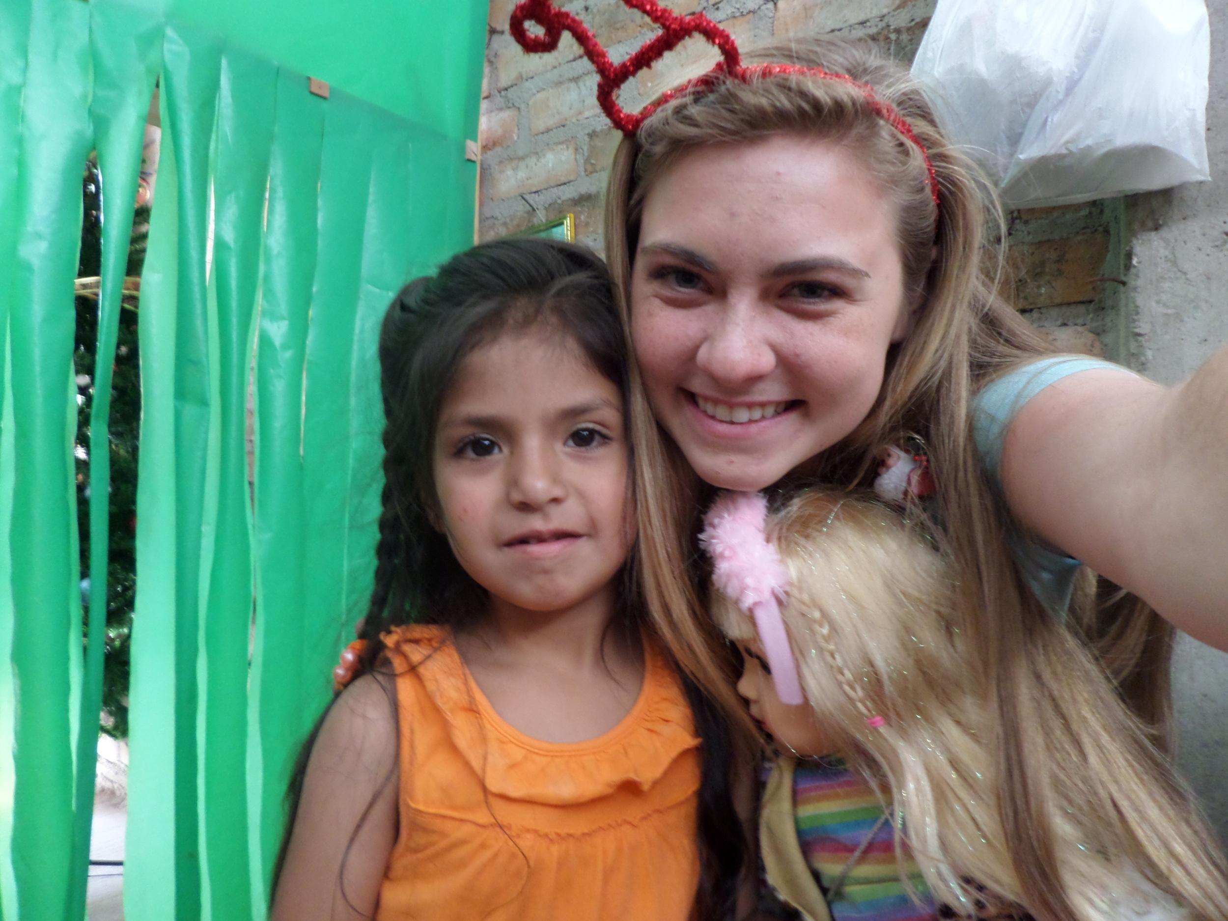 Sweet Sofia with Hermana Ras.