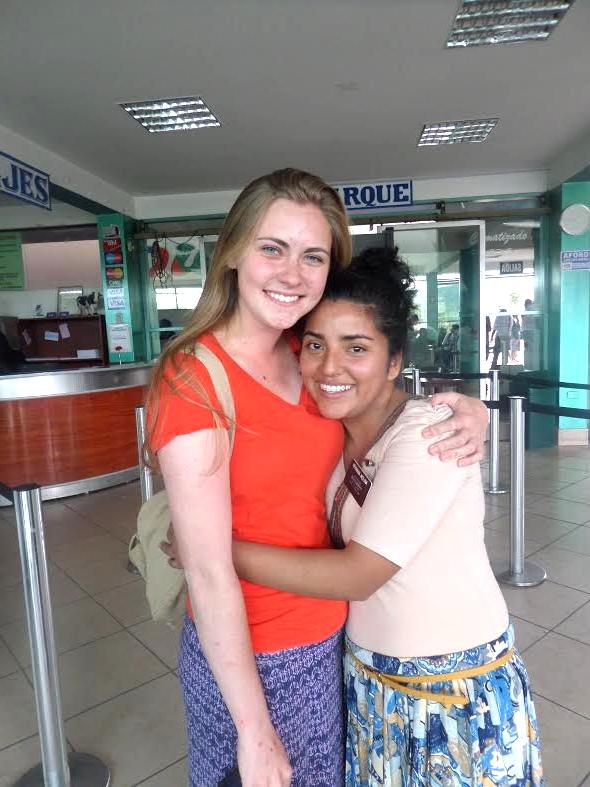 Bidding farewell to sweet Hermana Molina!