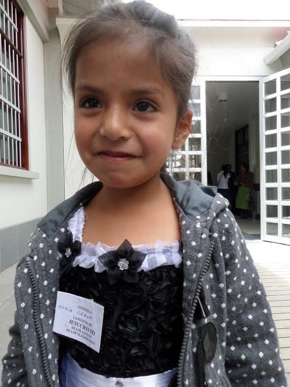 Sofia (Mario & Melani's baby) is ready to be a missionary, too! #HermanaCerna