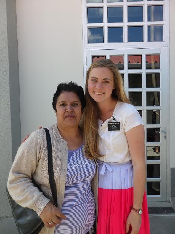 With Hermana Celia.