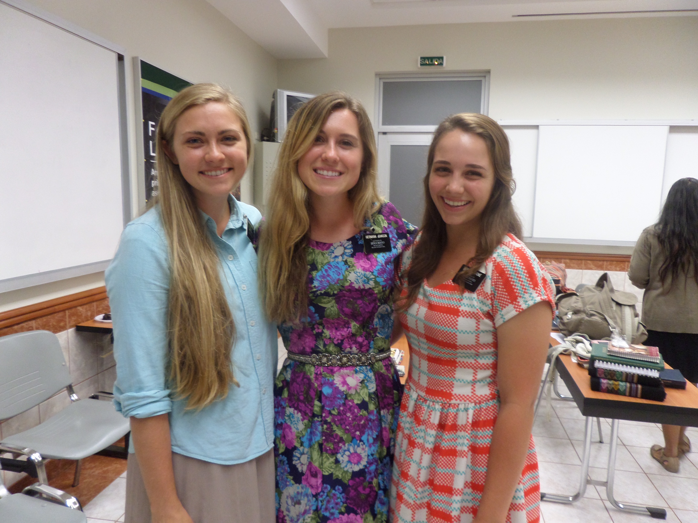 Camille trained Hermana Johnson, and Hermana Johnson trained the sister on the right. #ProudGrandmother :)