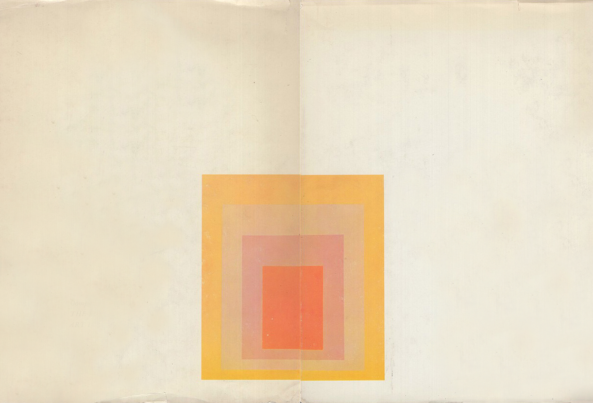 Josef Albers,  Untitled,  1967