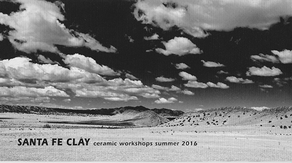 I am honored to be teaching a workshop at Santa Fe Clay from July 4 - 8.