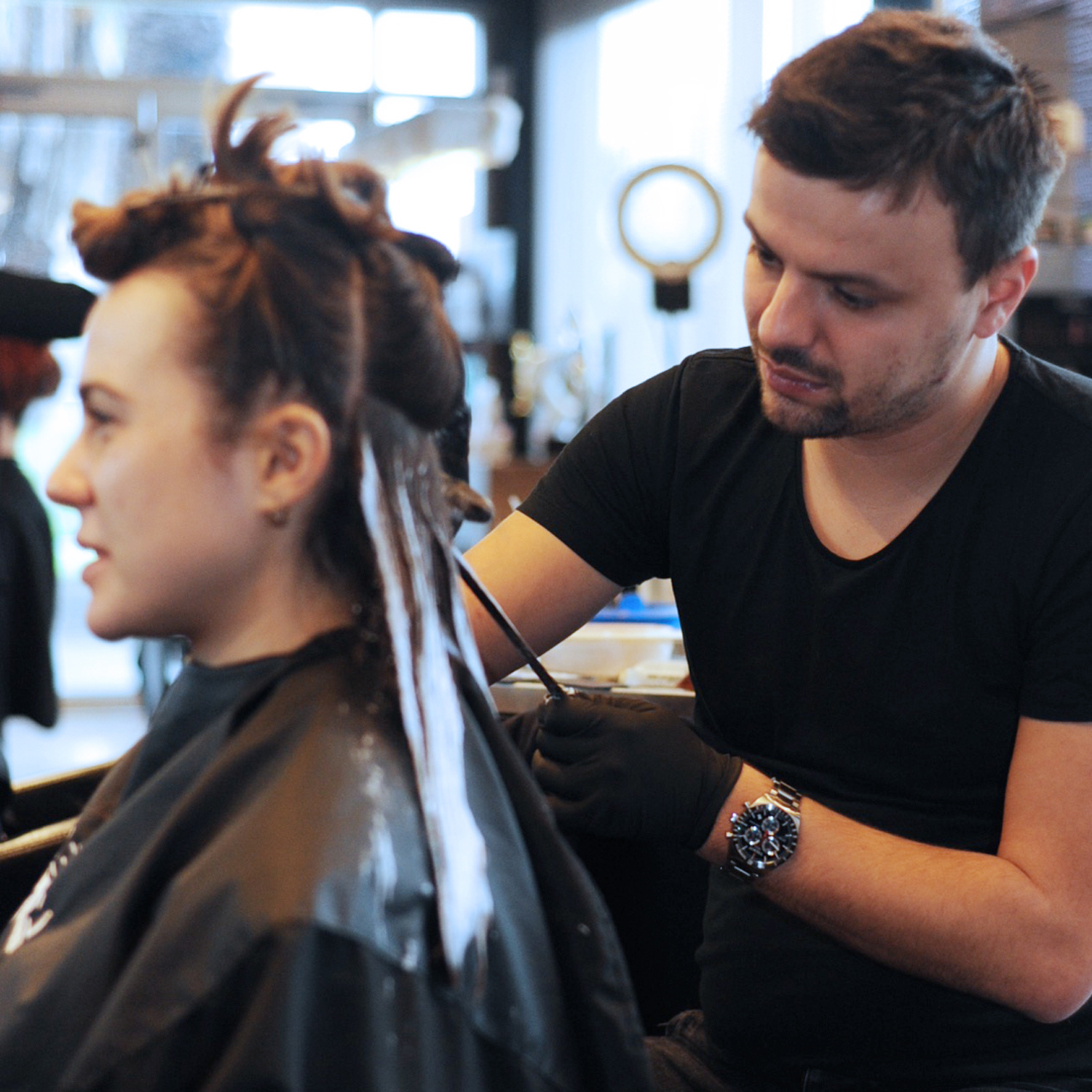 french freehand balayage_hair color_hair colourist_st kilda_elwood_melbourne_hairdresser_yoshiko_yoshik hair