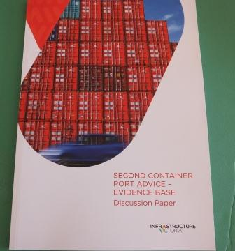 Infrastructure Victoria - Second Container Port Advice