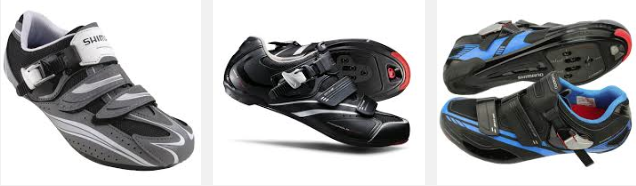 Shimano make a range of shoes but there are lots of other brands to choose from