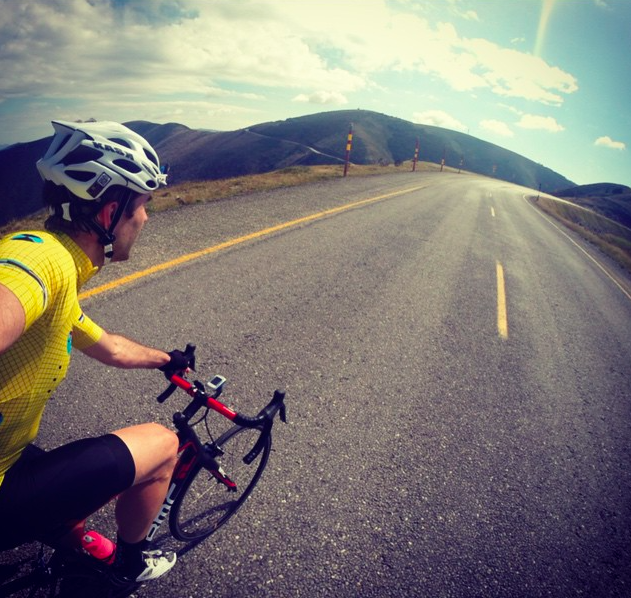 Getting c;ose t the top of Hotham, one of the most spectacular parts of the ACE205 and Ultimate 320 ride.