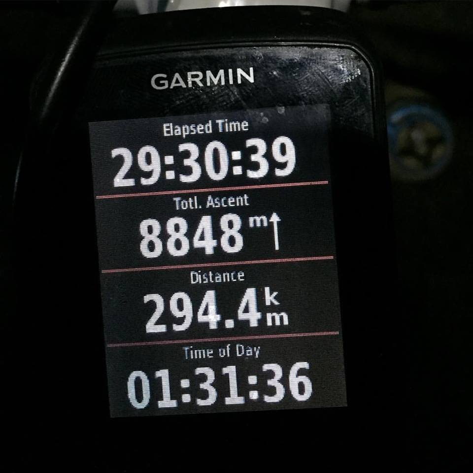 So many times on this ride, I thought there was no way I'd finish, did not believe it was possible to get to this point.