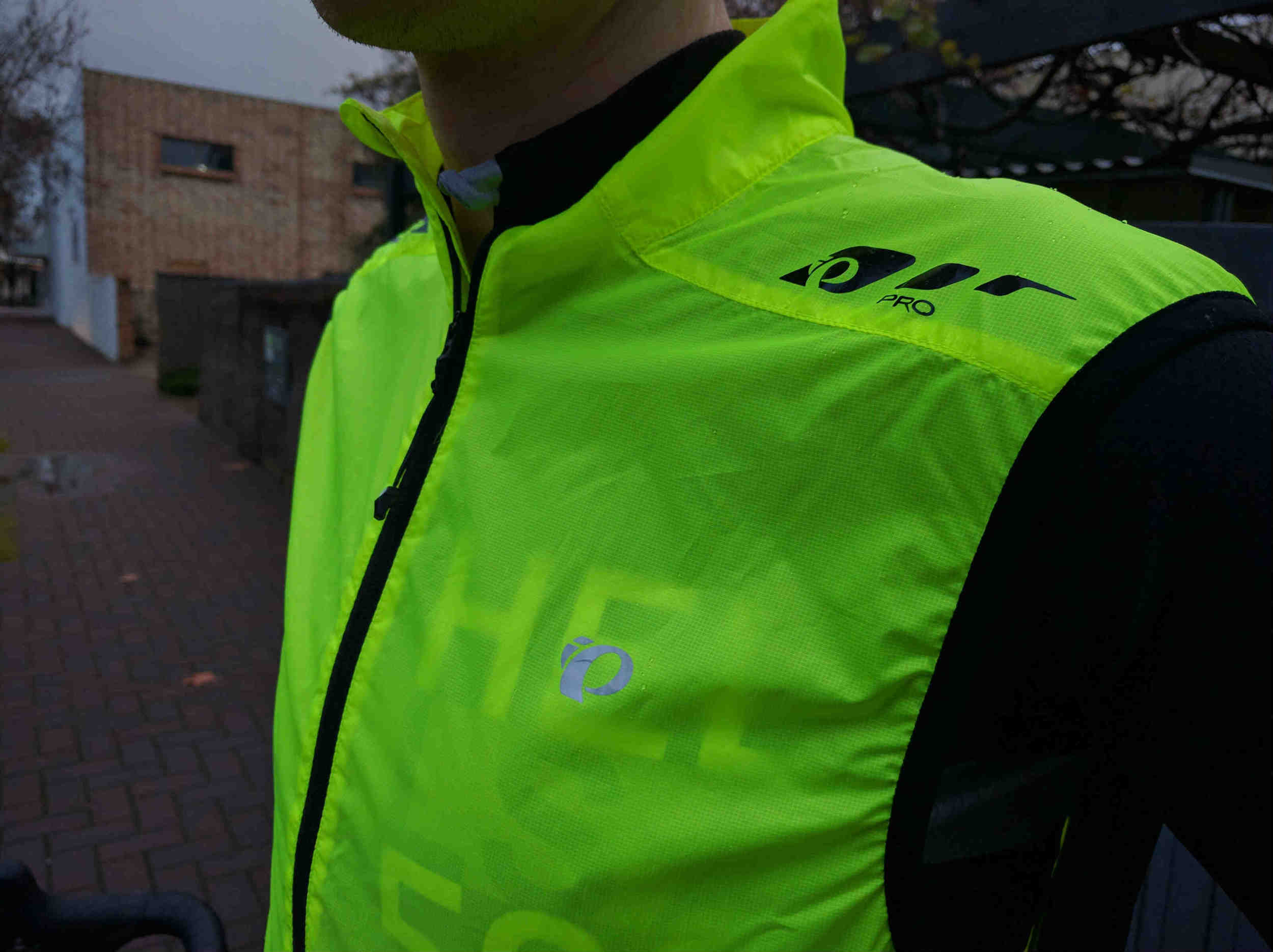 The Barrier Lite Vest is is staggeringly bright.