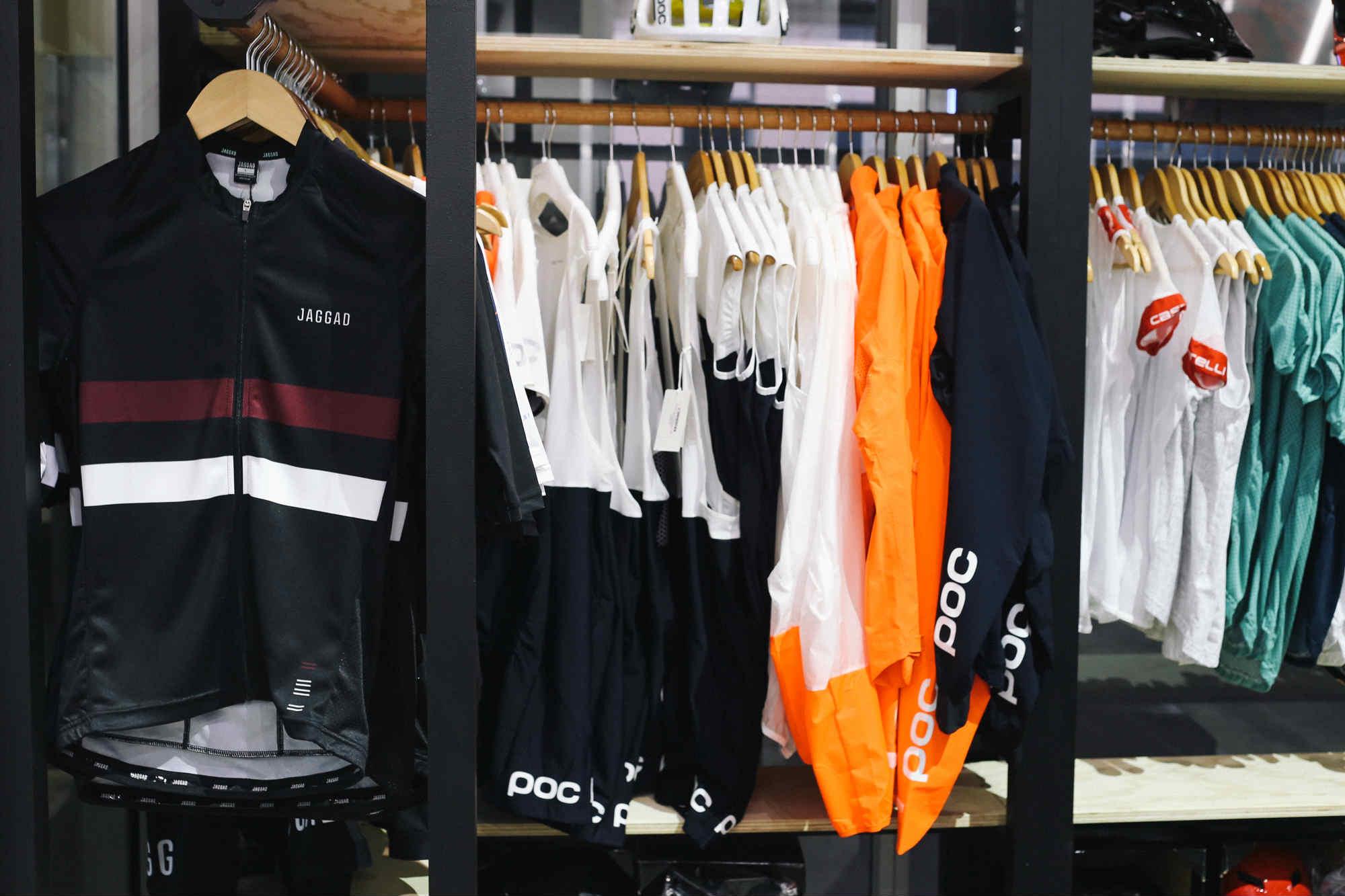 Aussie, Swedish, and Italian kit all on the same rack. Glorious.