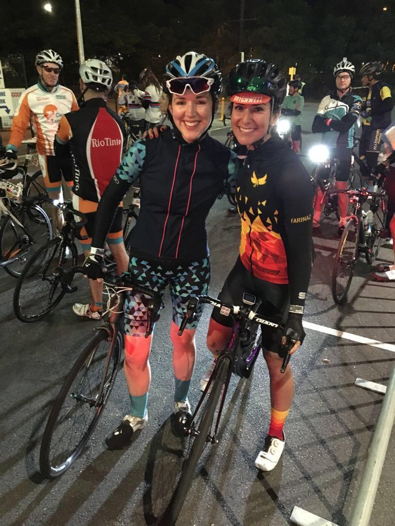 Kate and Faz ready to take on Peaks Challenge Gold Coast