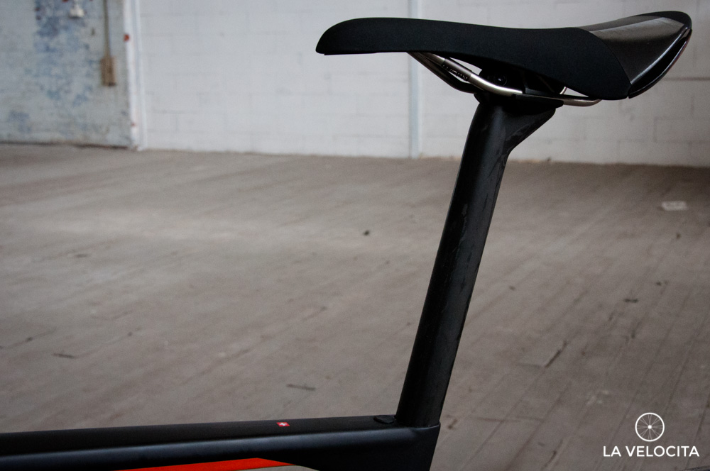 The Roadmachine has a seriously comfortable rear end.
