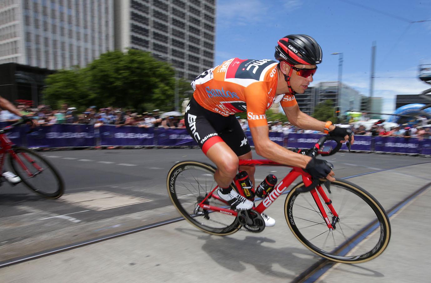 Santos Tour Down Under Champion Richie Porte (BMC Racing)