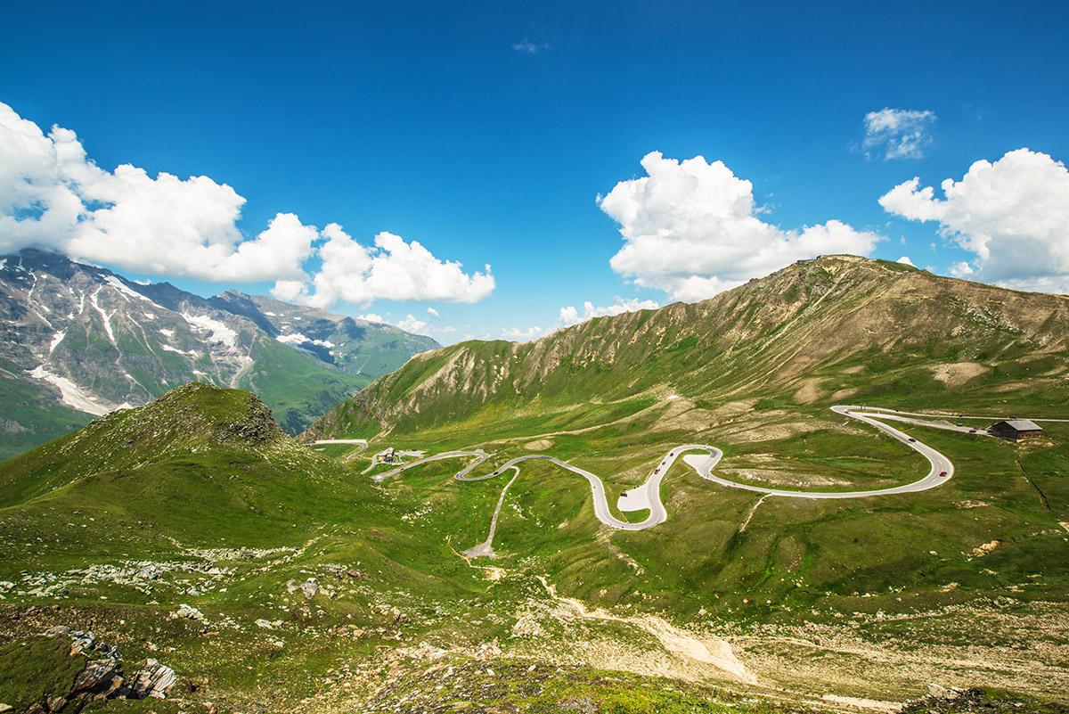 Austrian Alps on the Lionheart - Venice to Aquitaine tour
