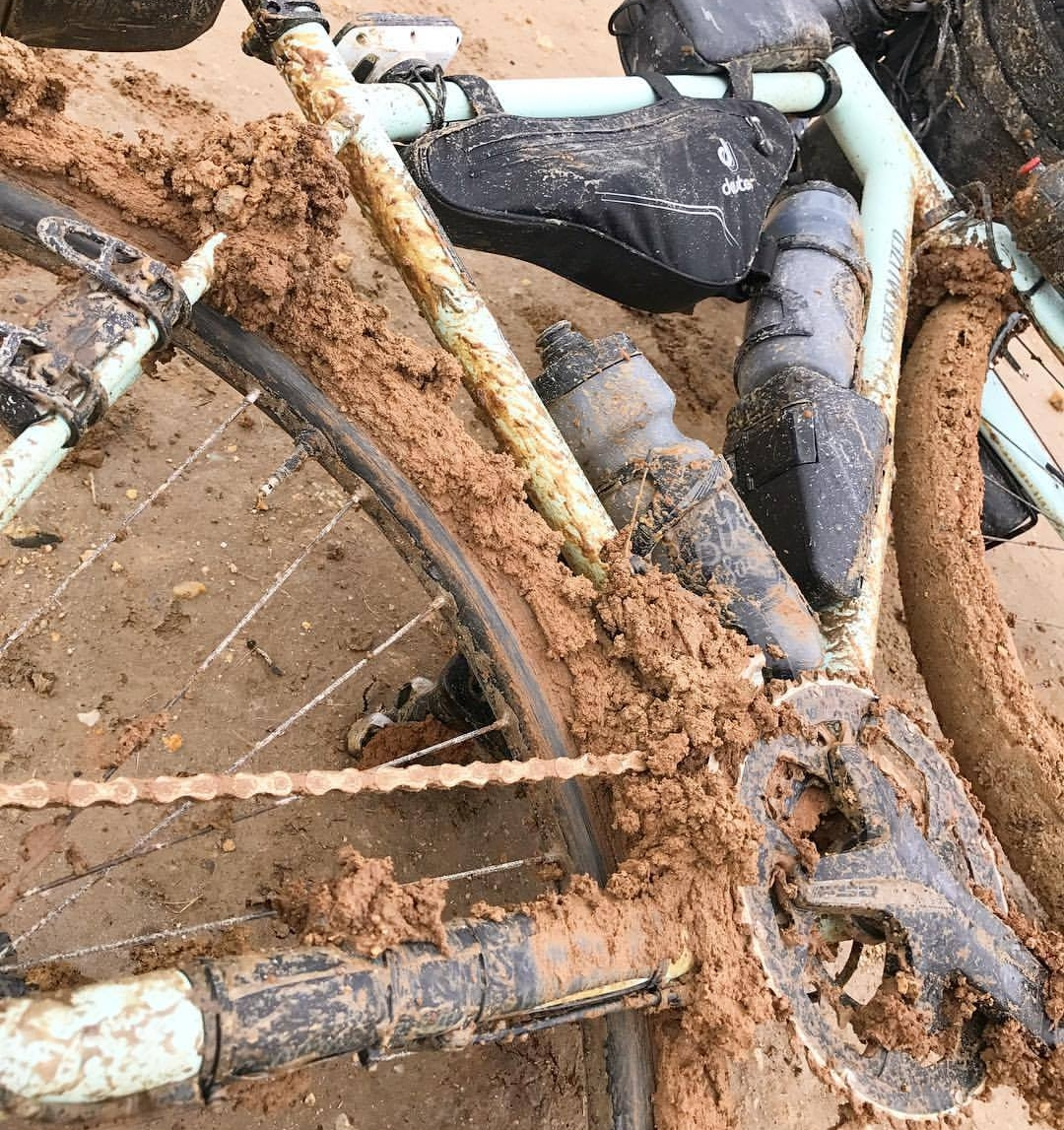 Photo and rekt bike - Dave Edwards (@withallihaveblog)