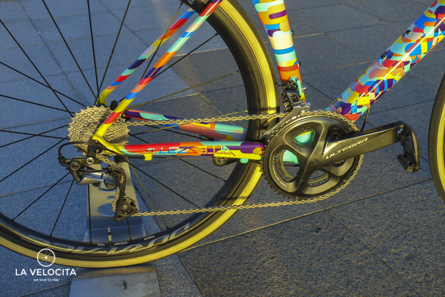 These pedals are best enjoyed with a full R8000 groupset